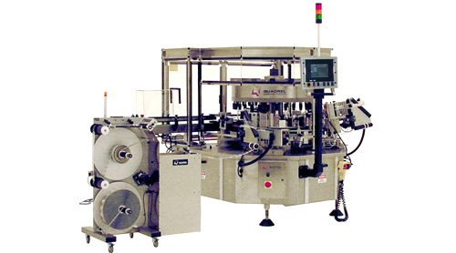 high-speed-front-back labeling system