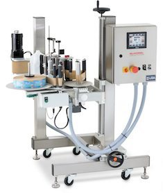 ML 60 Milk Container Labeler