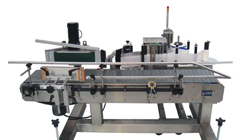 Print and apply pail carton labeler
