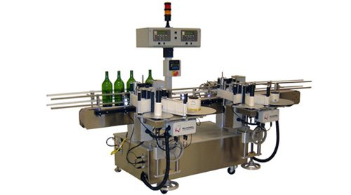 Wine Bottle labeling system