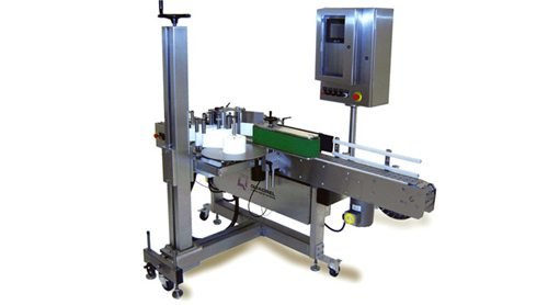 all-stainless-steel-wrap labeling system
