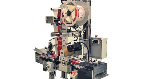 Small Diameter wrap labeling system